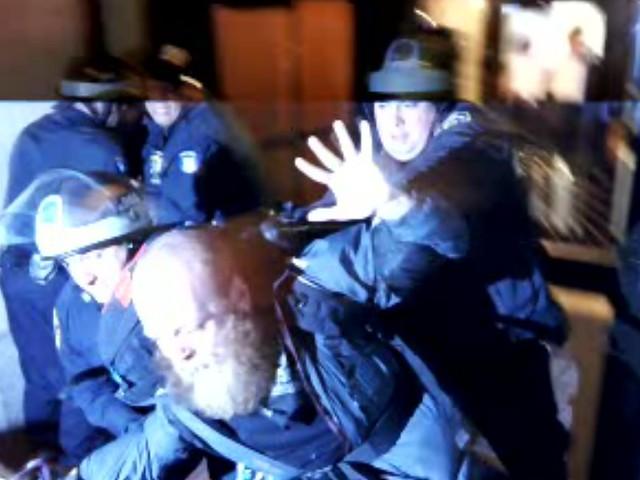 NYC Cop Riot - March 17, 2012