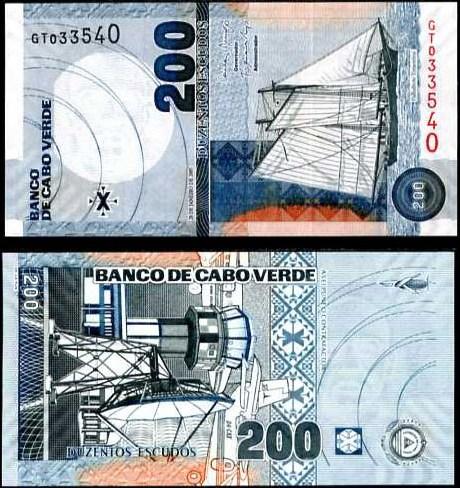 200 Escudos Kapverdy 2005, Pick 68
