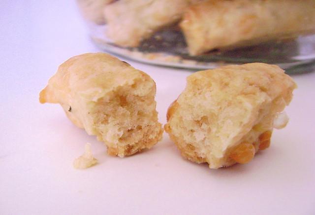 Biscoito de pimenta e queijo
