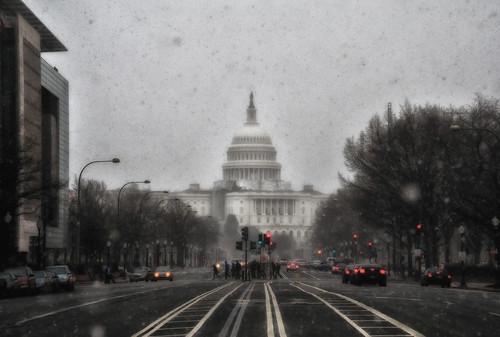 Finally Snow here, Washington, D.C. [i was waiting for long]
