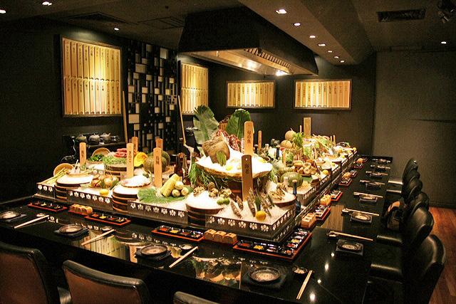 Robatayaki Room at Mikuni
