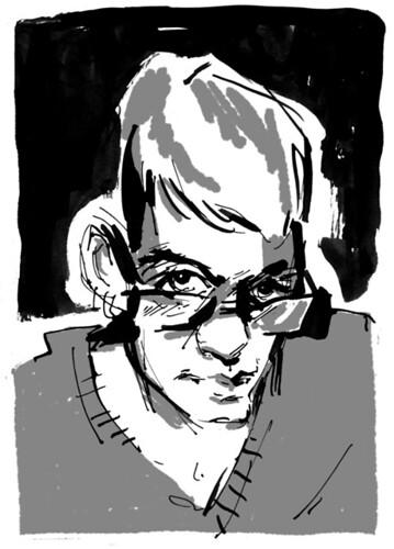 Ink sketch - 2/12/2012