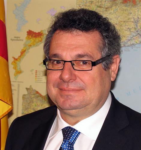 Víctor Terradellas, secretaria de Relacions Internacionals