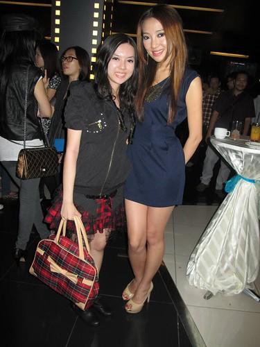 Chee Li Kee and Chelsia Ng
