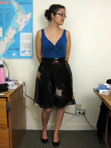 Splat Skirt 1