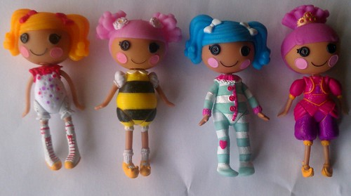 My Mini Lalaloopsy Dolls