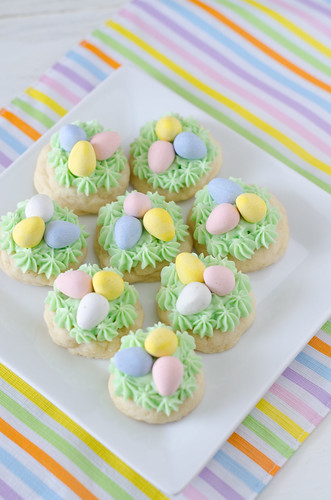 Easter Nest Sugar Cookies 3