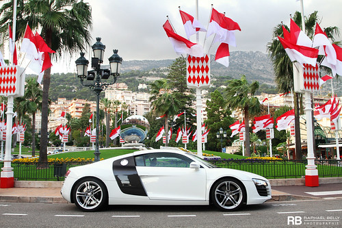 white paris car de french photography eos hotel riviera photographie casino montecarlo monaco belly exotic 7d passion audi blanche raphael bianco eight rb v8 spotting supercars r8 raphaël principality worldcars