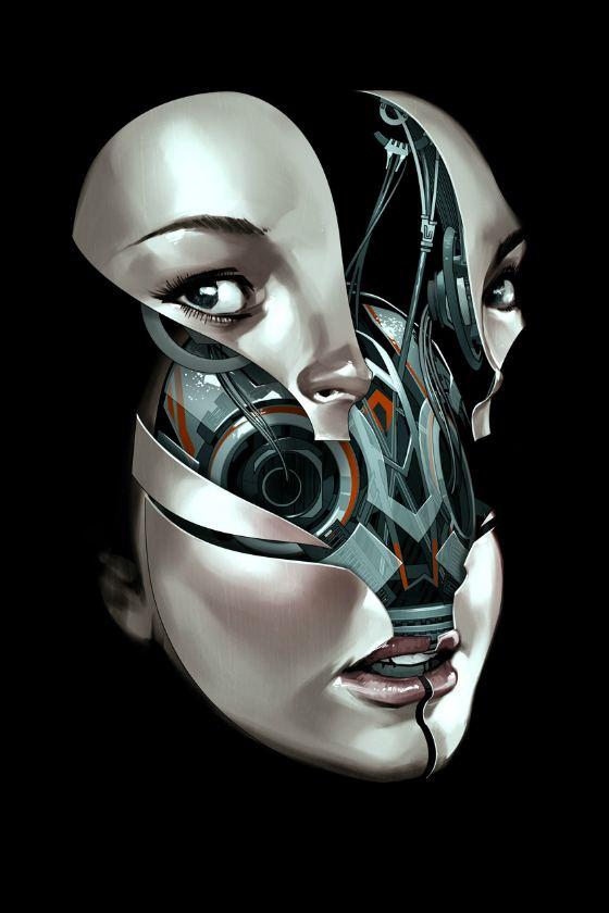 robots mujeres