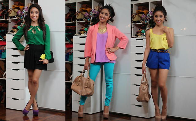 Dulce Candy colorblocking