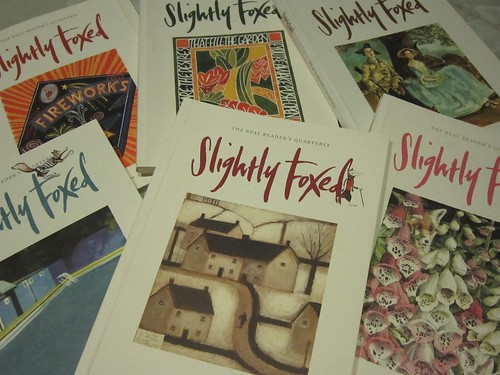 Slightly Foxed pile by Stuck-in-a-Book