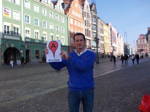 Geolocalization I'm in Wroclaw Google Maps