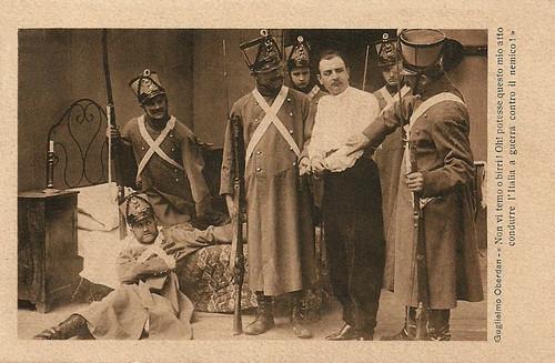 Alberto Collo in Guglielmo Oberdan, il martire di Trieste (1915)