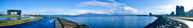 Panoramic Sea Border Harpa