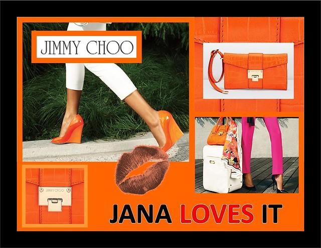 Naranja - Jimmy Choo