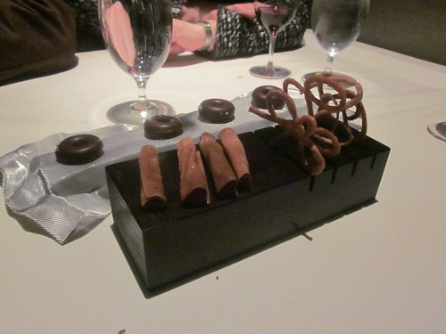 Next/El Bulli - Chicago - February 2012 - Chocolate Donuts, Creme Flute, Puff Pastry Web