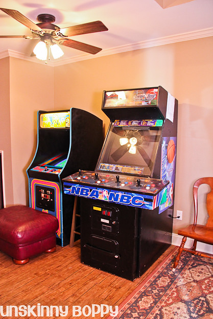 arcades in basement