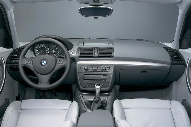 BMW 1 series (E87) interior