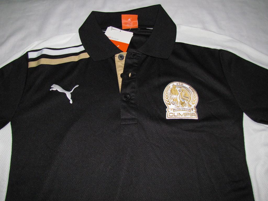 Camisa cuerpo Técnico Olimpia 2012, Centenario