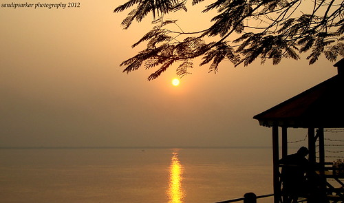 Golden Hour - Sunset at Diamond Harbour