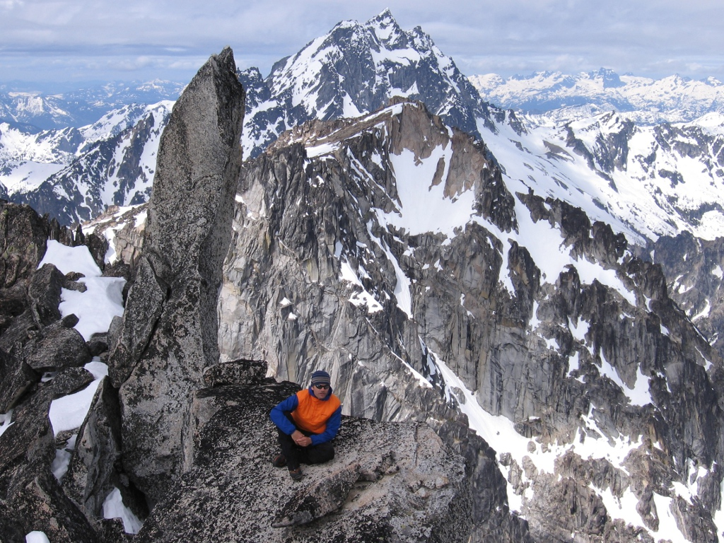 Guided Cascades Alpine Rock - Mount Stuart North Ridge ...