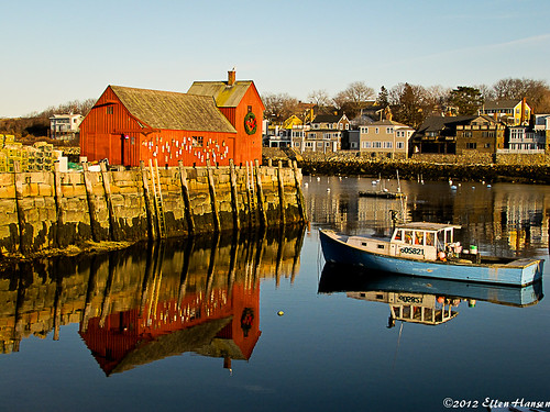 Harbor in Rockport, MA by Genny164