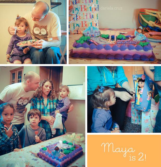 Maya's Birthday cake