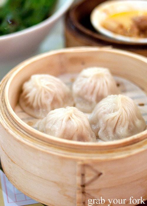 Xiao long bao soup dumplings yum cha dim sum east ocean chinatown haymarket