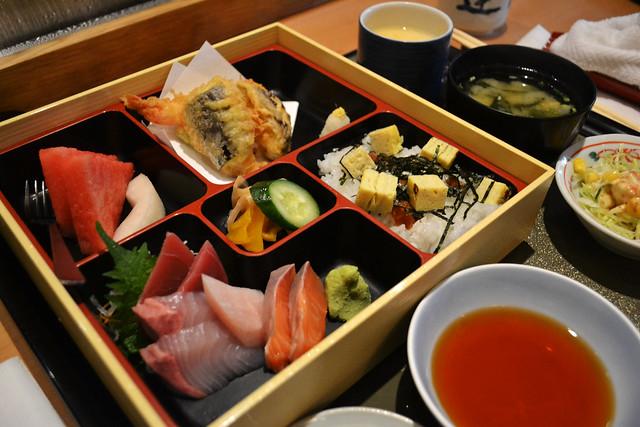 Sashimi Bento Set, Tatsuya