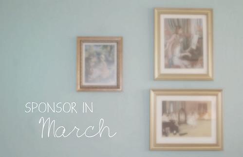 Sponsor in March