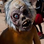 Spooky Mardi Gras Mask - San Martin Tilcajete, Mexico