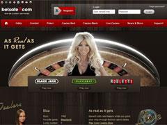 Betsafe Live Casino Lobby