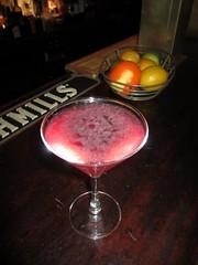 martini(0.0), margarita(0.0), distilled beverage(1.0), liqueur(1.0), produce(1.0), food(1.0), pink lady(1.0), drink(1.0), cosmopolitan(1.0), cocktail(1.0), alcoholic beverage(1.0),