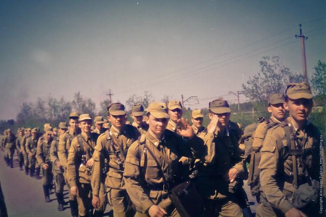 Аты-баты, шли солдаты. Полевой выход на 1 курсе.