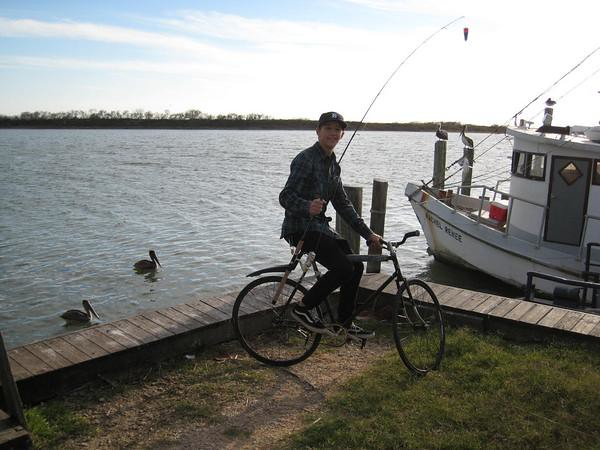 Bike Fishing
