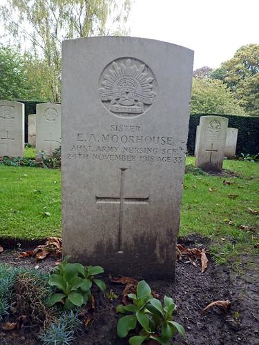 SISTER E.A. MOORHOUSE