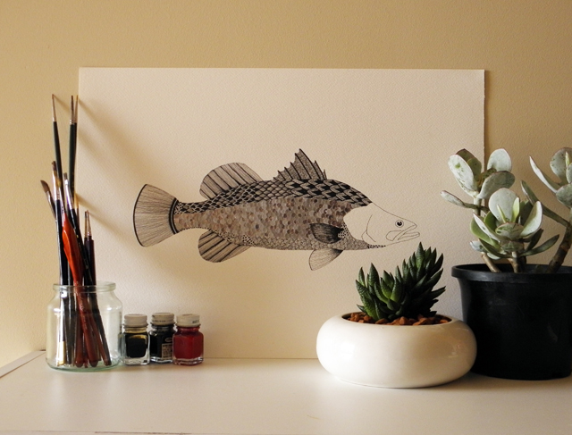 Barramundi Artwork