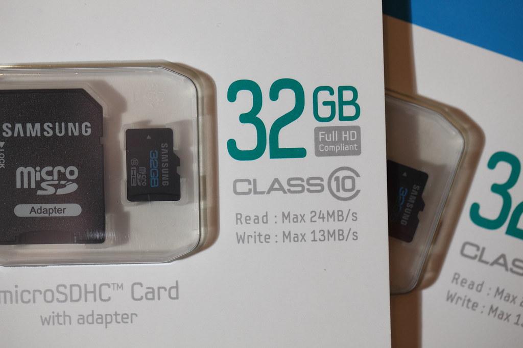 SAMSUNG microSD 32G C10