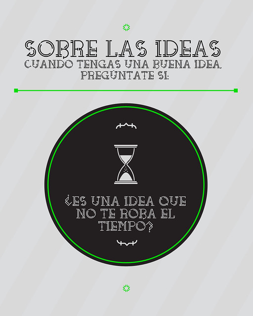 4: ¿Es una idea que no te roba el tiempo?