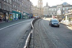 Top of Leith Walk crossing