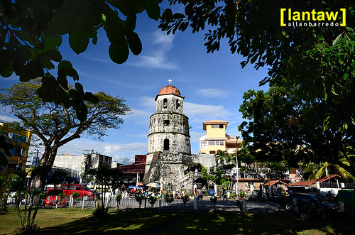 Dumaguete Belfry seen from Rizal Park