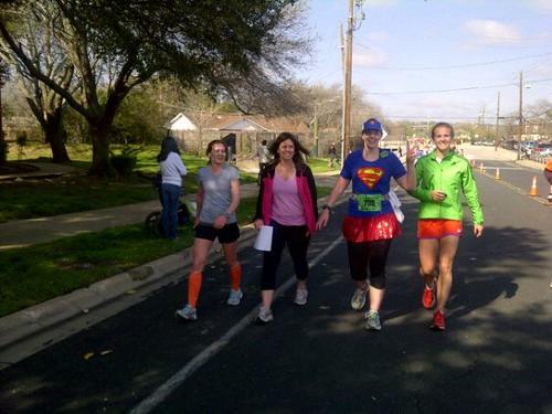Marathon mile 18ish