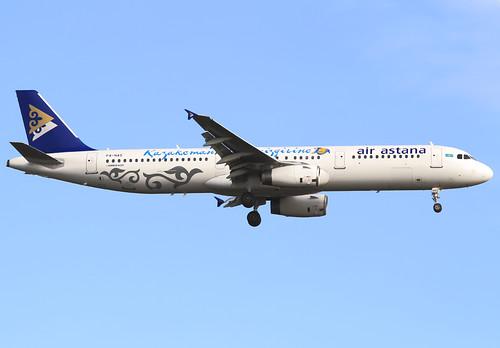 P4-NAS Air Astana Airbus A321-131