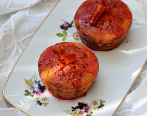 Little Blood Orange Cakes 2
