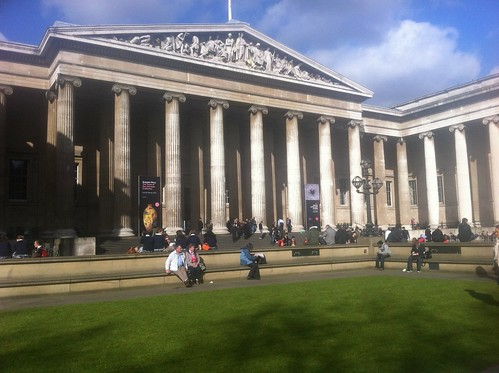 Outside of British Museum