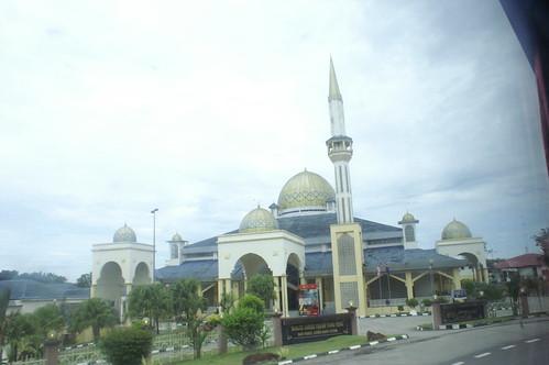 イスラム教国だからモスクもたくさんあった