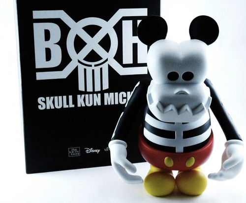 Disney x Bounty Hunter x MINDstyle Skull Kun Mickey