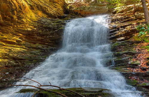 usa geotagged waterfall unitedstates tennessee grant waterfalls soddydaisy cumberlandtrail tennesseestateparks cumberlandtrailstatepark mimosatrailerpark geo:lat=3526776300 geo:lon=8526350200 northchickamaugacreeksegment