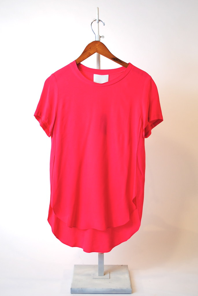 Overlapped Side Seam T-Shirt