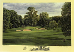 The 10th Hole, West Course, Winged Foot Golf Club, Mamaroneck, NY